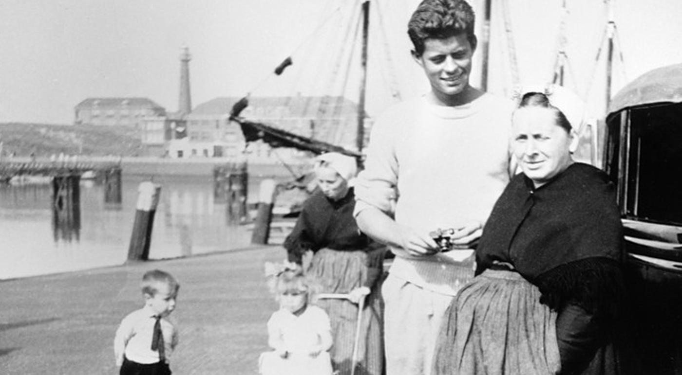 Kennedy in Scheveningen